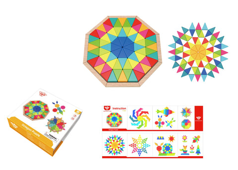 Tooky Toy - Octagon Puzzle