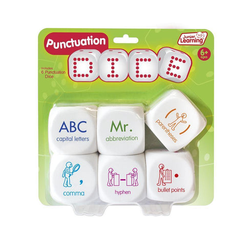 Junior Learning - Punctuation Dice