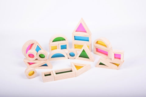 TickiT - Rainbow Block Set - Pk24