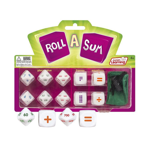 Junior Learning - Roll A Sum