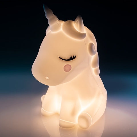 Lil Dreamers Unicorn Soft Touch Rubber LED Night Light