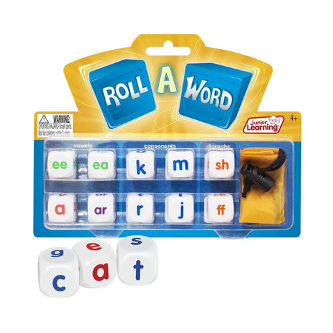 Junior Learning - Roll A Word