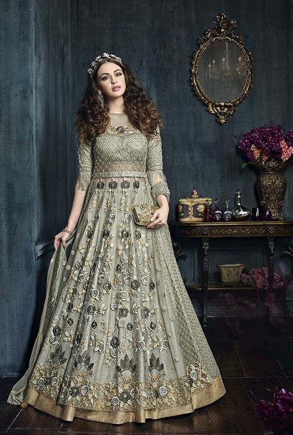 Fancy SemiStitched Salwar Suit