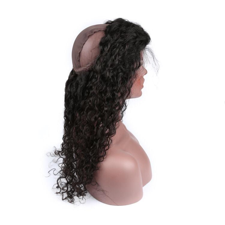 Kinky 9A Unprocessed Curly Weft Hair + Closure Bundles
