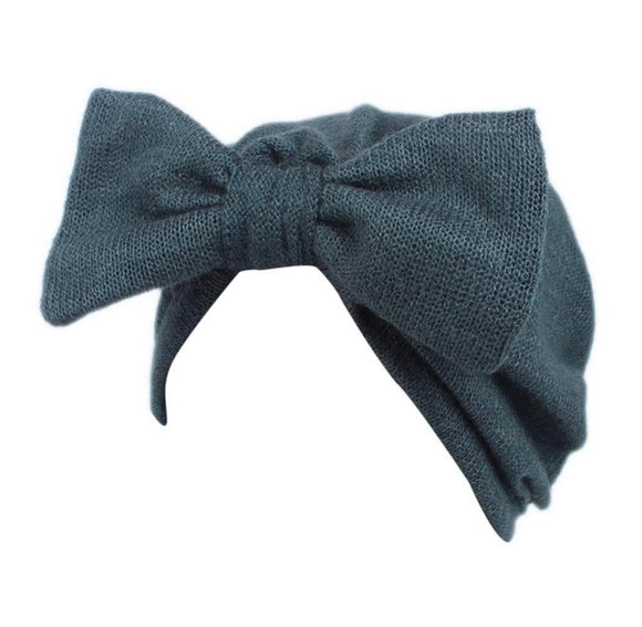 Baby Bow Turban-Green