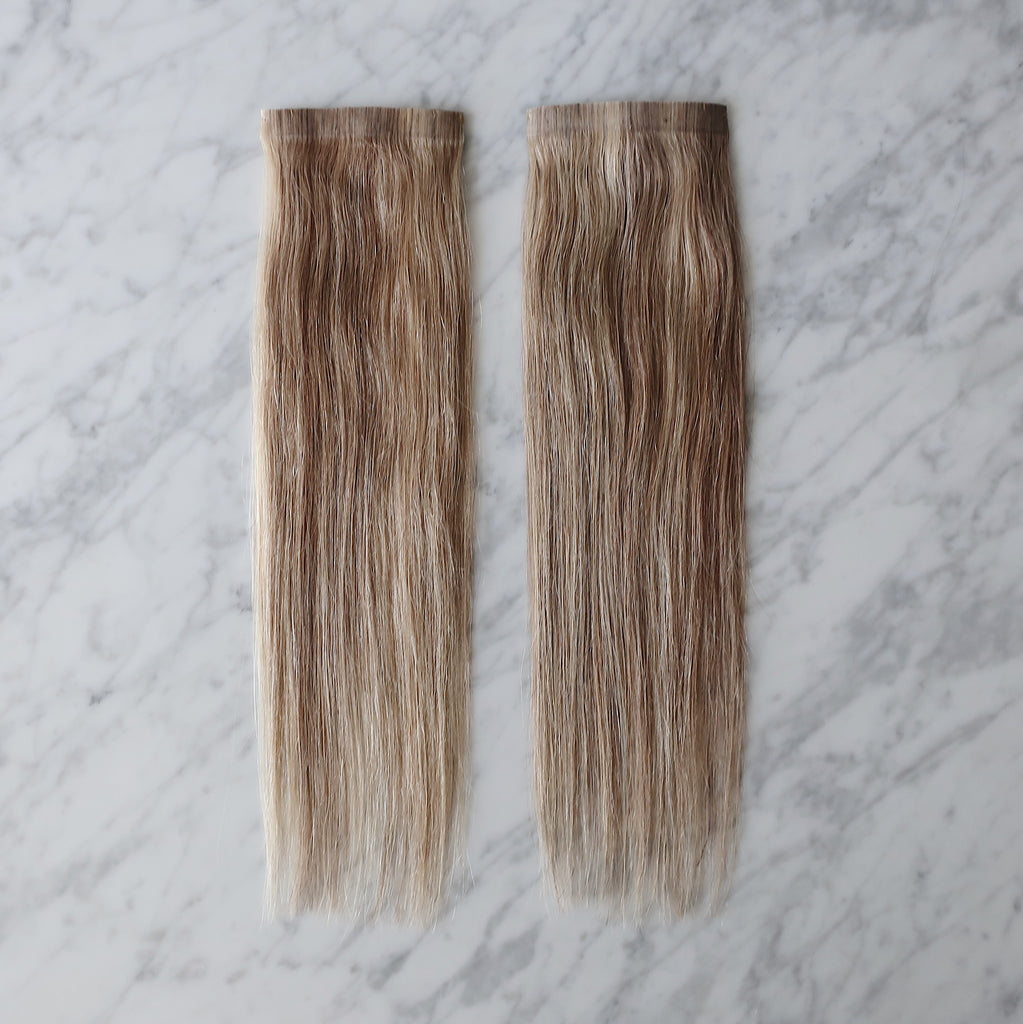 "LIGHT BROWN SIDE PIECE KIT (14"")"