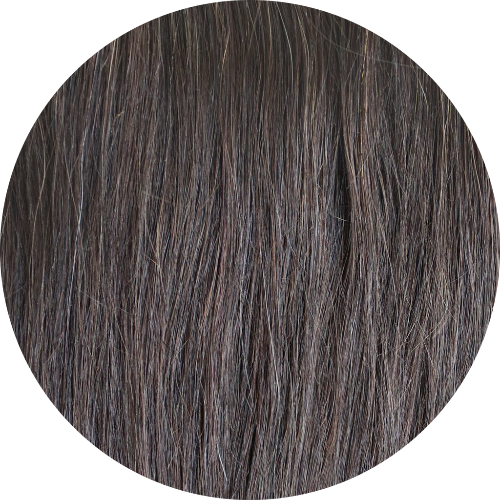 "DARK BROWN SIDE PIECE KIT (14"")"