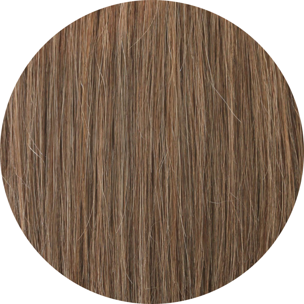 LIGHT BROWN CLIP IN BANGS