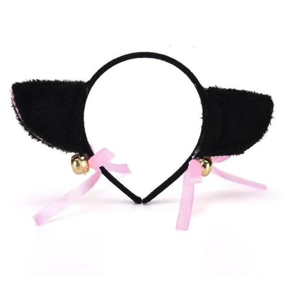 Fuzzy Neko Cat Ear Headband