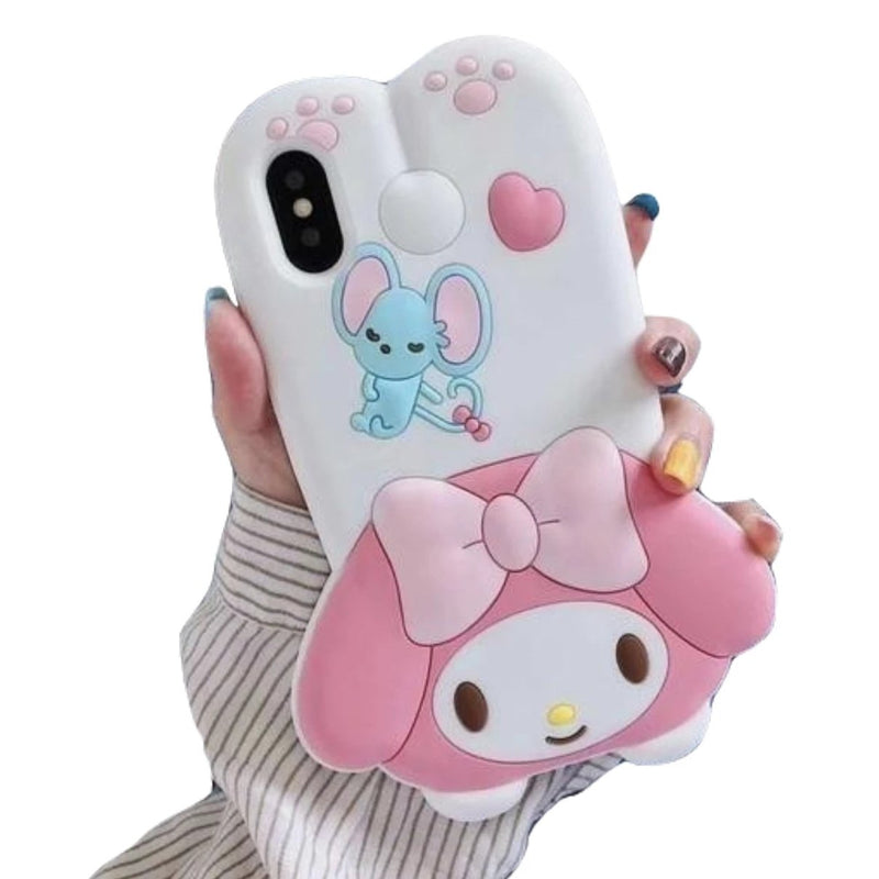 3D Melody Bunny iPhone Case - Phone Case