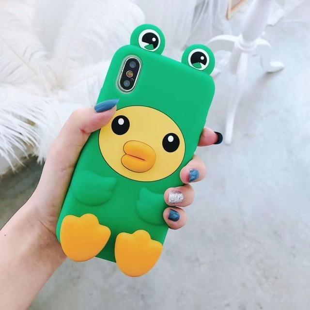 3D Melody Bunny iPhone Case - Green Froggy Duck / for iphone XS MAX - Phone Case