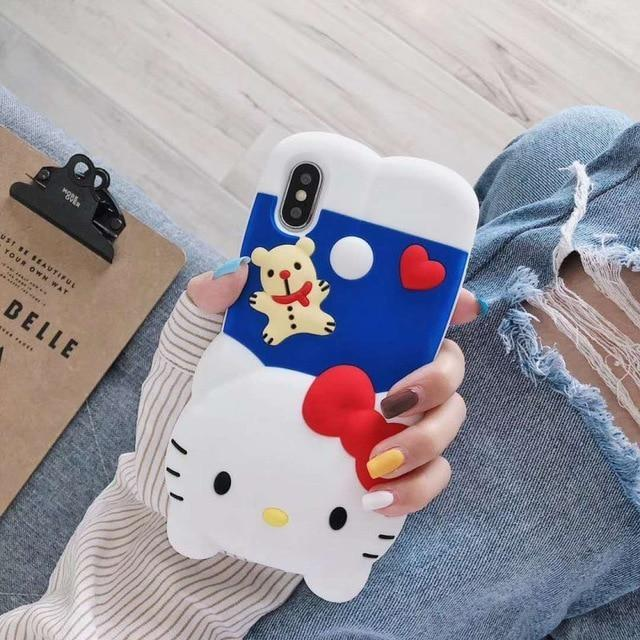3D Melody Bunny iPhone Case - Hello Kitty / for iphone 7 Plus - Phone Case