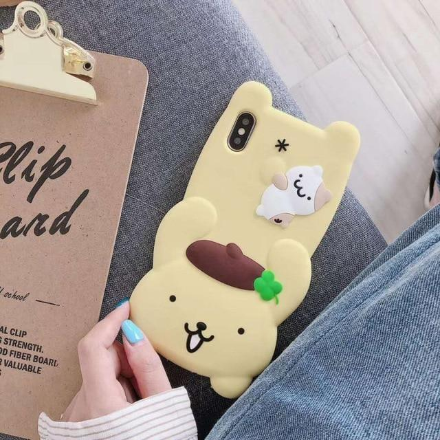 3D Melody Bunny iPhone Case - Pompompurin / for iphone XS MAX - Phone Case