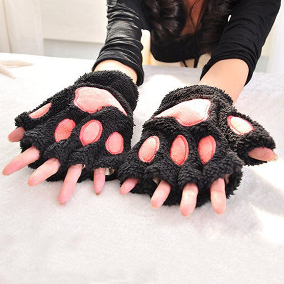 Neko Cat Paw Winter Gloves
