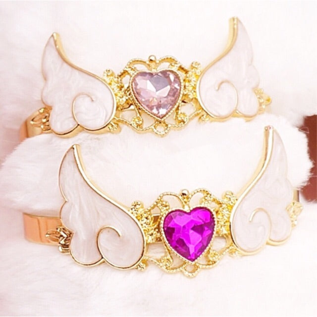 Magical Winged Cuff Bracelet