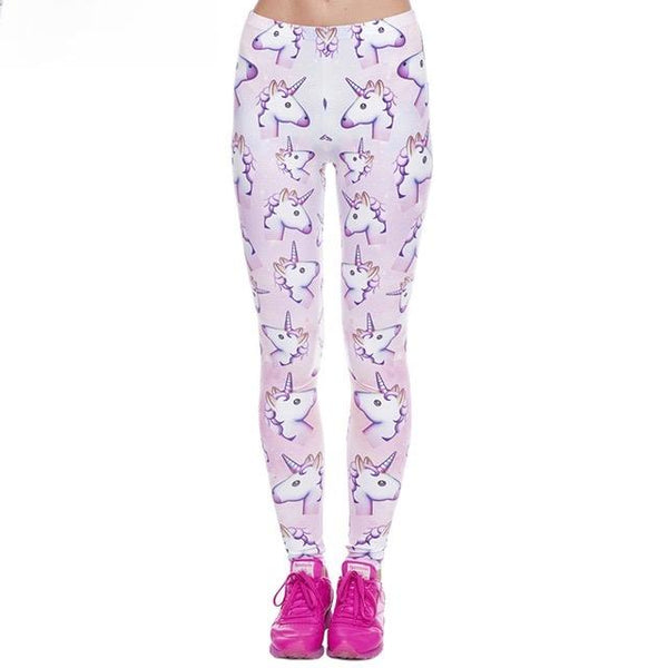 Unicorn Emoji Leggings