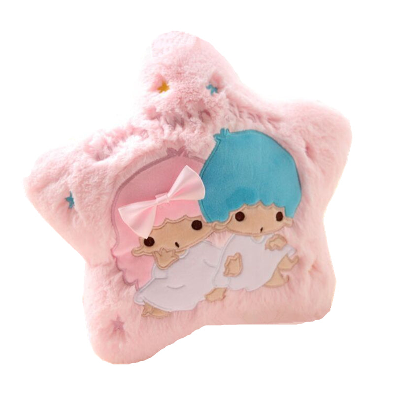 Sanrio Little Twin Stars Kiki Lala Throw Pillow Decor Decoration Bedding Fairy Kei Kawaii Babe