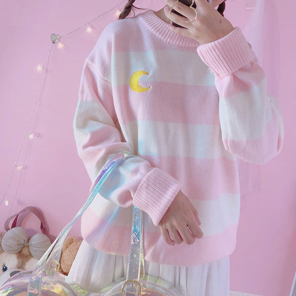 Magic Moon Knit Sweater