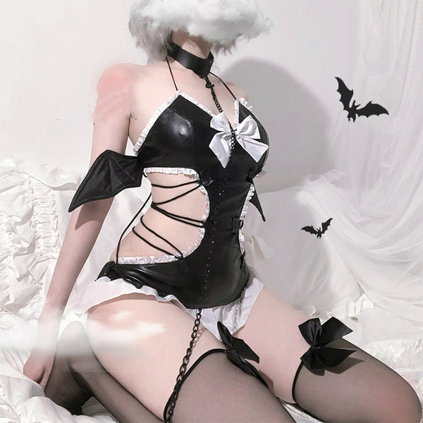 Batty Babe Lingerie Set