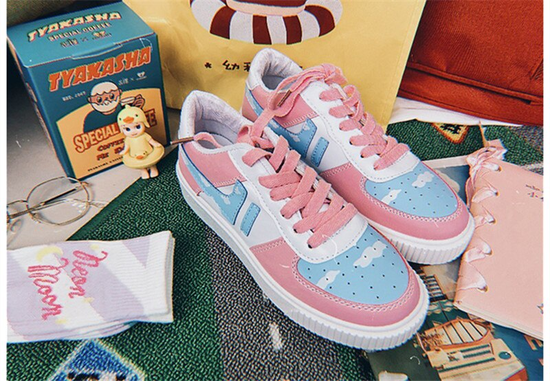 Cotton Candy Sneakers