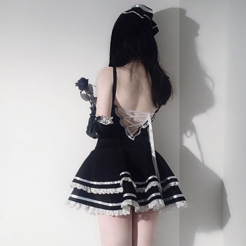 Classic French Maid Dress