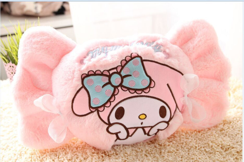 Sanrio Little Twin Stars My Melody Kiki Lala Throw Pillow Decor Decoration Bedding Fairy Kei Kawaii Babe