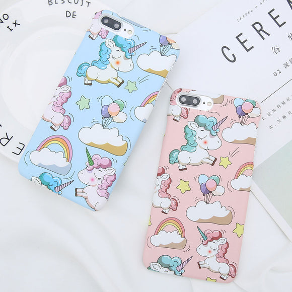 Sleepy Unicorn Phone Case