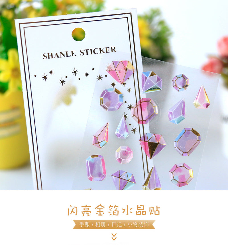 Crystal Jewel Stickers