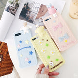 3d rubber sanrio iphone cases pom pom purin my melody hello kitty badtz maru keroppi cinnamoroll silicone bendy shock proof harajuku japan fashion by kawaii babe