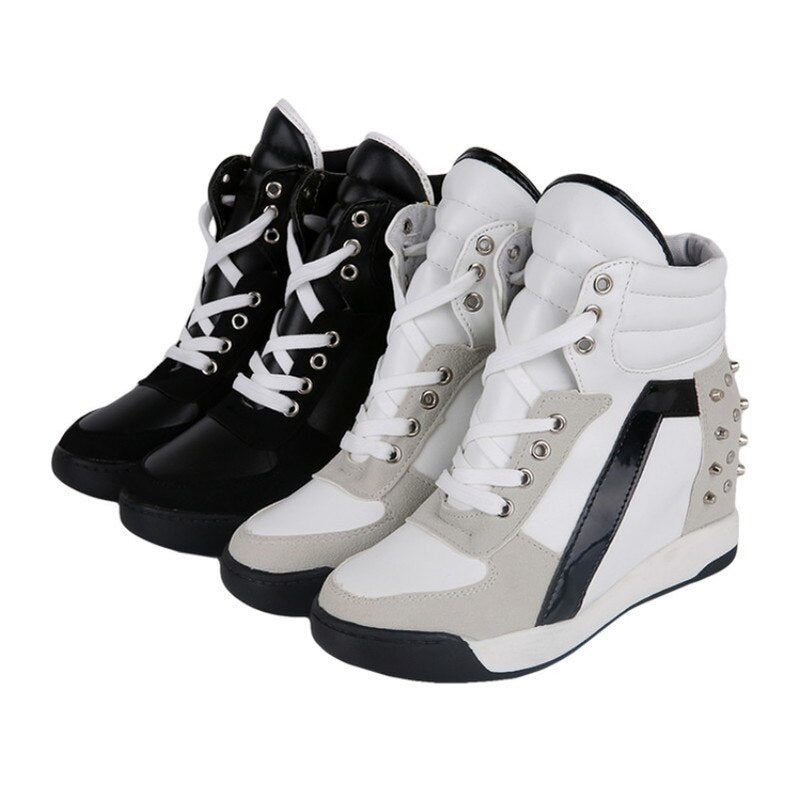 Hi-Top Stud Sneakers