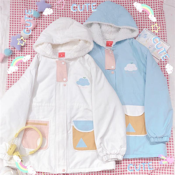 Cloudy Day Fleece Lined Coat