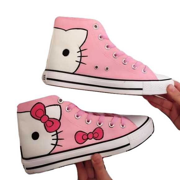 Kitty Tennis Shoes