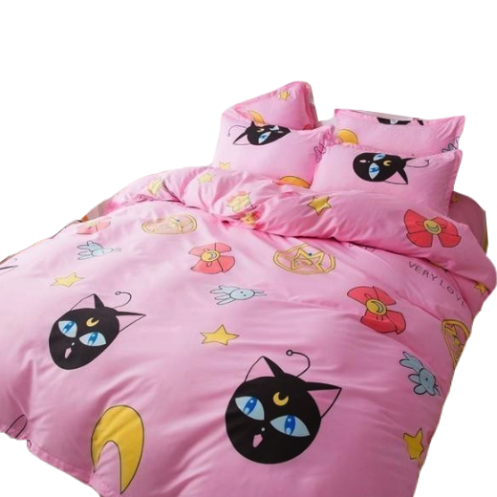 Magical Girl Bedding Set