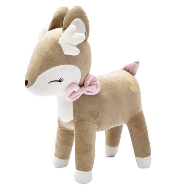Sleepy Standing Deer Plush