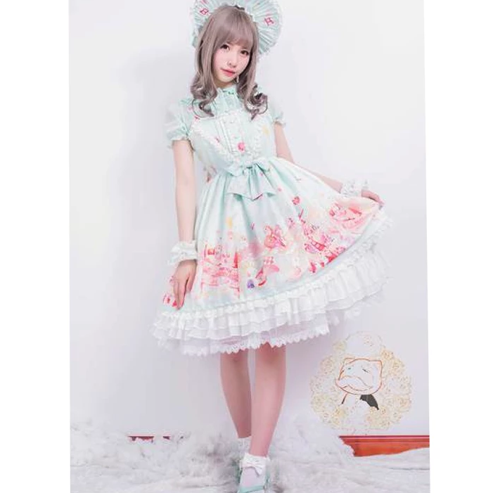 Minty Sweets Dress