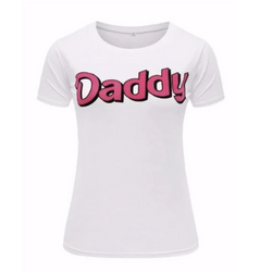 Daddy T-Shirt - Black or White