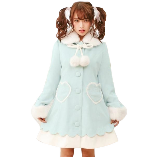 Winter Princess Dress Coat