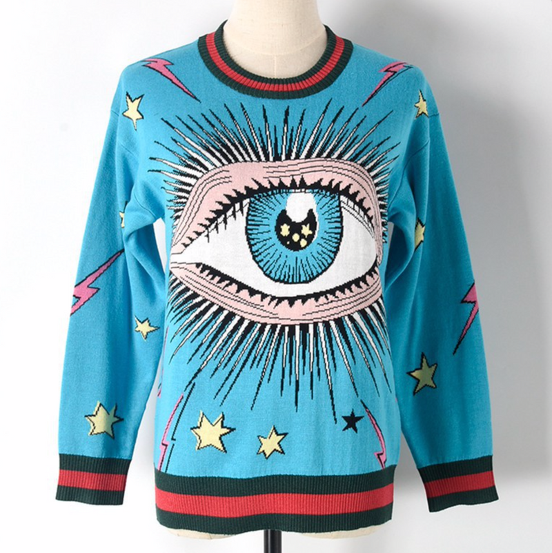 All Seeing Eye Sweater