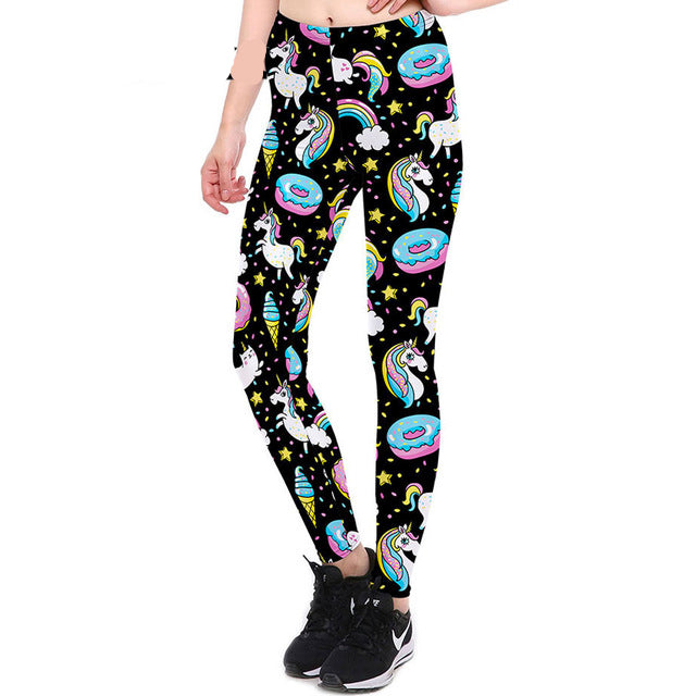 Unicorn Donut Leggings