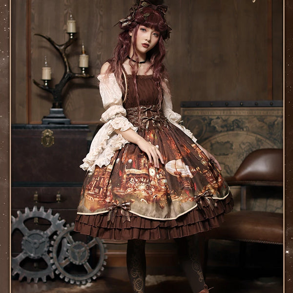 Steampunk Castle Dress