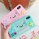 Kawaii Adventure Time Beemo iPhone Case Apple Cute 3D Rubber TPU