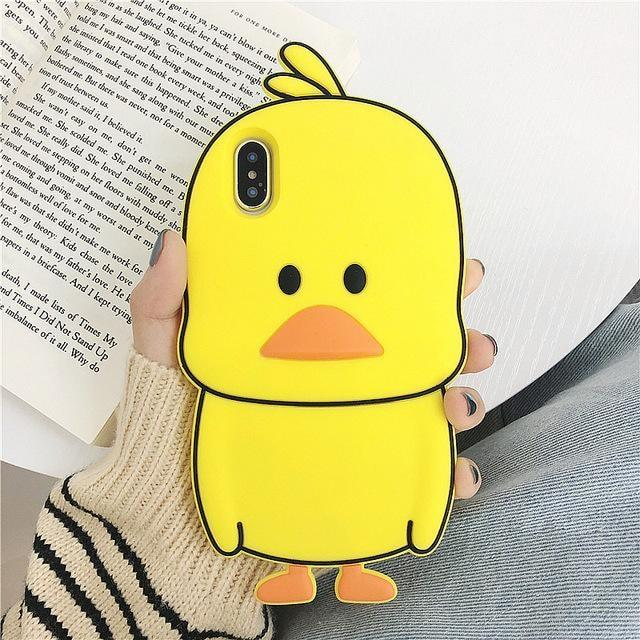 Adventure Time iPhone Case - Yellow Duck / for iphone 6 6s - phone case