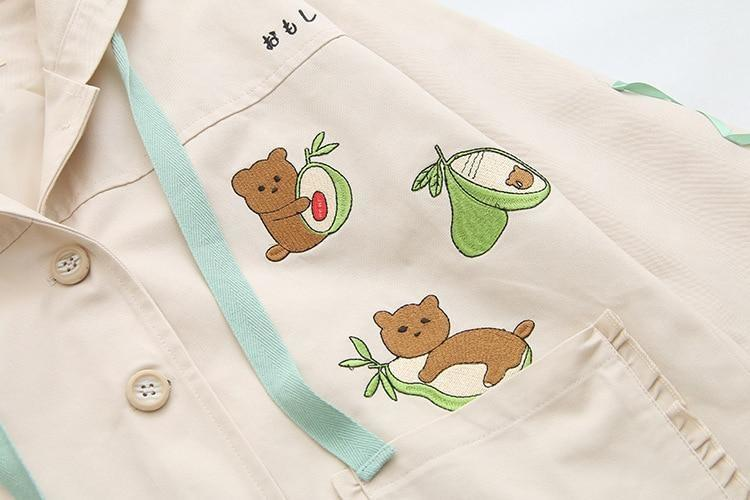 Avocado Bear Jacket - coat