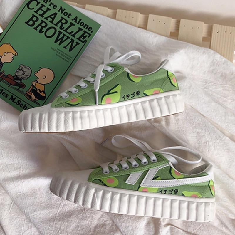 Avocado Trainers - 10 - shoes