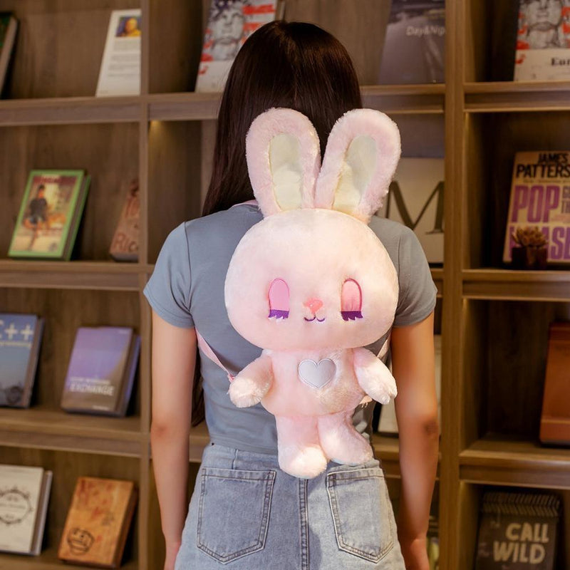Baby Angel Bunny Backpack - backpack, backpacks, bags, book bag, bunny rabbit