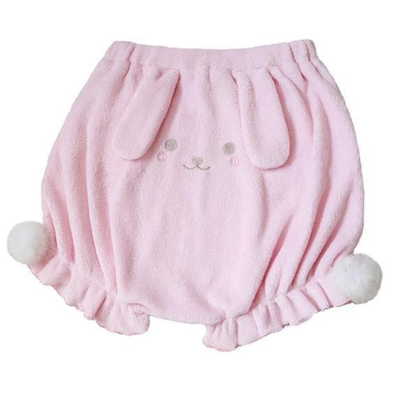 Baby Bun Bloomers - Pink / L - shorts