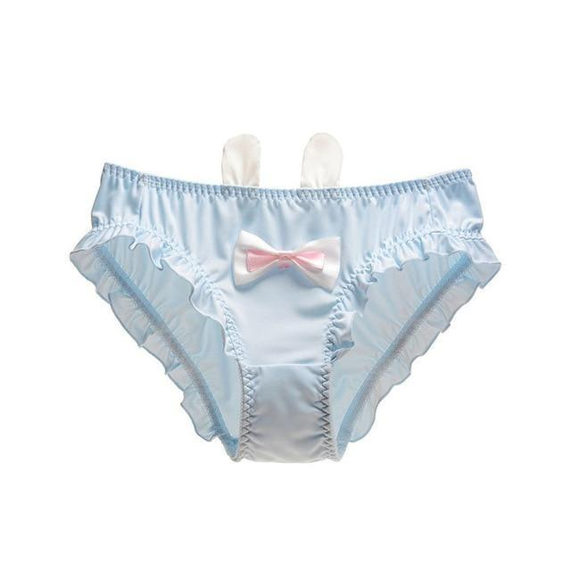 Baby Bun Panties - Blue / M - underwear