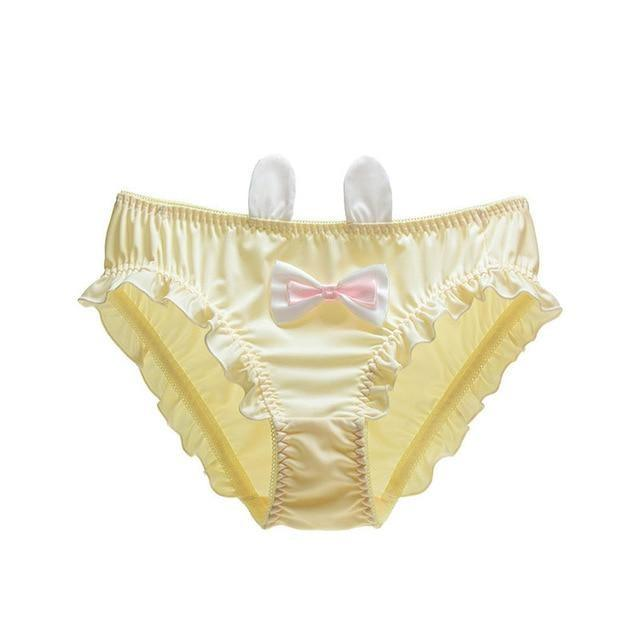 Baby Bun Panties - Yellow / M - underwear