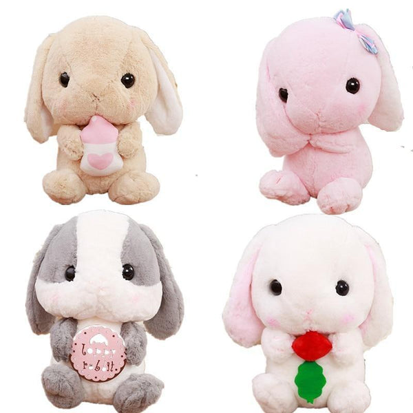 Soft Plush Baby Bun Bunny Rabbit Stuffed Animal Plushie Toy Kawaii Cute