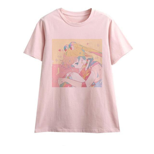 Baby Sailor Moon Tee - Hunched Over Sailor Moon / S - shirt